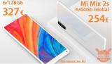 Offer - Xiaomi Mi Mix 2S Global 6 / 64Gb at 254 € and 6 / 128Gb at 327 € from EU warehouse