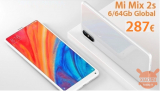 割引コード -  Xiaomi Mi Mix 2S Global 6 / 64Gb to 287€