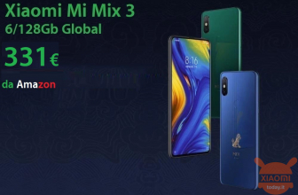 Code de réduction - Xiaomi Mi Mix 3 GLOBAL 6 / 128Gb à 331 € d'Amazon avec la livraison gratuite!