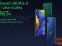 Discount Code - Xiaomi Mi Mix 3 GLOBAL 6 / 128Gb at 365 € warranty 2 years Italy priority shipping and accessory kit Gift!