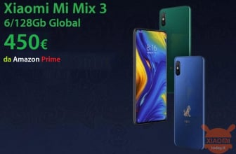 Offer - Xiaomi Mi Mix 3 GLOBAL 6 / 128Gb to 450 € from Amazon Prime!