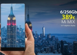 Discount Code - Xiaomi Mi 6 Mix / 256Gb Ultimate Black 389 € Shipping Italy Express Included
