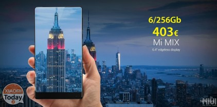Discount Code - Xiaomi Mi Mix 6 / 256Gb Ultimate Black 403 € !!! Shipping and Shipping Included