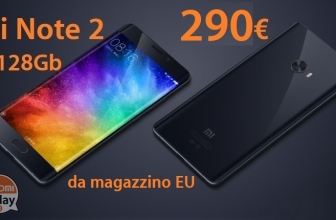 Discount Code - Xiaomi Mi Note 2 Black 4 / 64Gb to 273 € and only 290 € for 6 / 128Gb both from stock EU