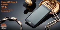 Offer - Xiaomi Mi Note 2 Black 4 / 64Gb to 221 € with 2 European years warranty and FREE shipping from EU warehouse