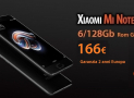 Offer - Xiaomi Mi Note 3 Black 6 / 128Gb to 166 € warranty 2 years Europe and priority shipping Included