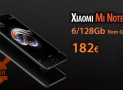 Discount Code - Xiaomi Mi Note 3 Black 6 / 128Gb to 182 €