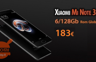 كود الخصم - Xiaomi Mi Note 3 Black 6 / 128Gb to 183 €