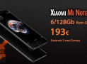 Discount Code - Xiaomi Mi Note 3 Black 6 / 128Gb to 193 € 2 warranty years Europe and Priority Free Shipping