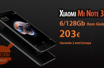 Offer - Xiaomi Mi Note 3 Black 6 / 128Gb to 203 € 2 years warranty Europe and priority delivery Included