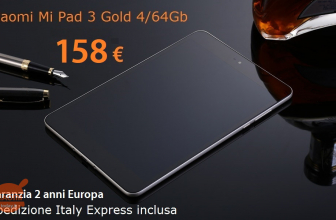 Offer - Xiaomi Mi Pad 3 4 / 64Gb to 158 € guarantee 2 years Europe Shipping Italy Express Included