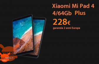 Offer - Xiaomi Mi Pad 4 PLUS 4 Tablet PC / 64GB to 228 € 2 Warranty years Europe