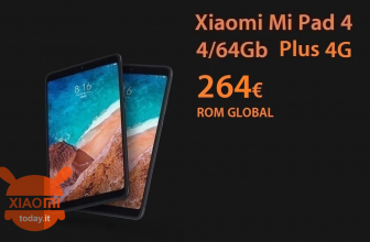제안 - Xiaomi Mi 4 PLUS 패드 4 / 64GB 4G LTE ROM 264에 GLOBAL 및 4 / 128Gb to 276