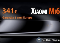 Discount Code - Xiaomi Mi 6 International 6 / 64Gb Black to 341 € with 2 years of warranty Europe Italy express included