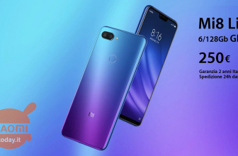 Discount Code - Xiaomi Mi8 Lite Global 6 / 128Gb to 250 € 2 years warranty Italy shipped Free in 24h from Italy and 4 / 64Gb to 189 € shipping / warranty China
