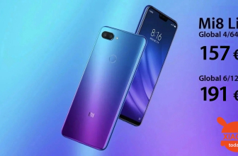 Code de réduction - Xiaomi Mi8 Lite Global 4 / 64Gb à 157 € et 6 / 128Gb à 191 €