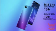 Код скидки - Xiaomi Mi8 Lite Global 4 / 64Gb по 169 € и 6 / 128Gb по 196 € гарантия 2 лет Европейская приоритетная доставка включена