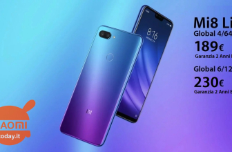 Discount Code - Xiaomi Mi8 Lite Global 6 / 128Gb to 230 € and 4 / 64Gb to 189 € Warranty 2 Years Europe