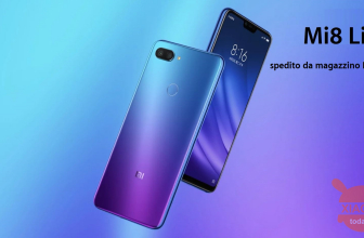 Discount Code - Xiaomi Mi8 Lite Global 6 / 128Gb at € 176 and 4 / 64Gb at € 144 from EU warehouse