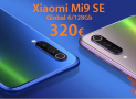 Offer - Xiaomi Mi9 SE Global (20 Band) BLUE / Black 6 / 128Gb from 320 € and 6 / 64Gb Black for 276 € only