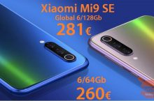 Discount Code - Xiaomi Mi9 SE Global (20 Band) 6 / 128Gb from 281 € and 6 / 64Gb for 260 € only