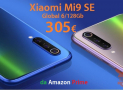 Offre - Xiaomi Mi9 SE Global (bande 20) 6 / 128Gb de 305 € sur Amazon Prime