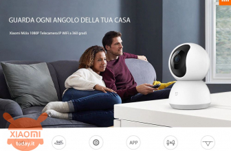 Codice Sconto – Xiaomi Mijia 1080P 360° PTZ Smart IP Camera a 29€