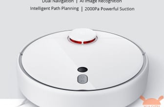 Discount Code - The brand new Xiaomi Mijia 1S Robot Vacuum at 344 € warranty 2 years Italy and 277 € guarantee China