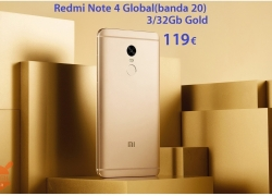 Discount Code - Redmi Notes 4 Global 3 / 32Gb to 119 €