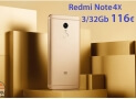Code de réduction - Redmi Notes 4x 3 / 32Gb Rom Global de 116 € Livraison Italy Express incluse