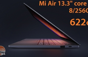 Discount Code - Xiaomi 13.3 Core Air Notebook i5 7200U 8 / 256 Gb to 622 € shipping priority line Included!