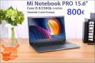 "Discount Code - Xiaomi Mi 15.6 PRO Notebook ""i5-8250U 8 / 256Gb to 800 € 2 warranty years Europe"