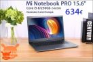 Discount Code - Xiaomi Mi Notebook PRO i5-8250U 8 / 256Gb to 634 € 2 guarantee years Europe