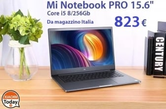 Discount Code - Xiaomi Mi Notebook Air PRO i5 8 / 256Gb to 823 € Shipping 24 / 48h Express Included