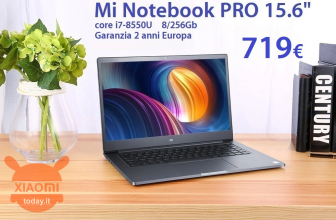 Discount Code - Xiaomi Mi Notebook Pro i7-8550U 8 / 256Gb to 719 € guarantee 2 years Europe Priority delivery INCLUDED