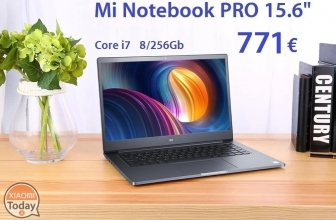 Discount Code - Xiaomi Mi Notebook Pro i7 8 / 256Gb to 771 € and 16 / 256Gb to 912 € Shipping Italy Express Included