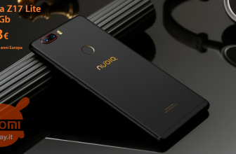 Discount Code - Nubia Z17 Lite 6 / 64 Gb Rom Global to 123 € Warranty 2 Years Europe Italy Express Included