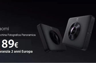 Offer - Xiaomi Mijia 4K Panorama Action Camera Black at 189 € guarantee 2 years Europe Italy Express Included