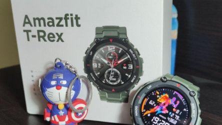 Revisão do Amazfit T-Rex: o indestrutível Sportwatch !!!