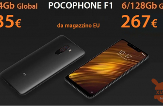 Discount Code - Xiaomi PocoPhone 6 / 64Gb at 235 € and 6 / 128Gb at 267 € shipped from EU warehouse