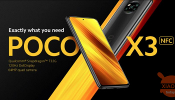 Offer - Poco X3 NFC Global 6 / 64Gb at 194 € and 6 / 128Gb at 227 € and from Amazon at 250 €