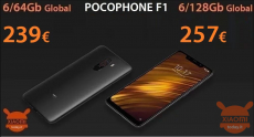 Discount Code - Xiaomi PocoPhone 6 / 128Gb to 257 € and 6 / 64Gb to 239 €