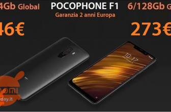 Discount Code - Xiaomi PocoPhone 6 / 64GB to 246 € and 6 / 128Gb to 273 € guarantee 2 years Europe and Italy Express FREE
