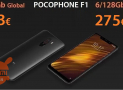 Discount Code - Xiaomi PocoPhone 6 / 128Gb to 275 € and 6 / 64Gb to 253 €