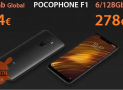 Discount Code - Xiaomi PocoPhone 6 / 128Gb to 278 € and 6 / 64Gb to 254 €