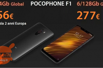 Discount Code - Xiaomi PocoPhone 6 / 128Gb to 277 € warranty China and 6 / 64Gb to 256 € warranty 2 years Europe priority free shipping