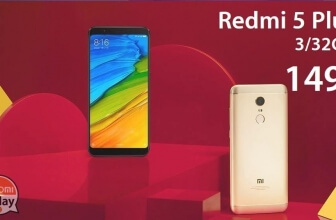 Discount Code - Xiaomi Redmi 5 Plus 3 / 32Gb Global version (20 band) to 149 € and 4 / 64Gb to 166 € Italy Express Included