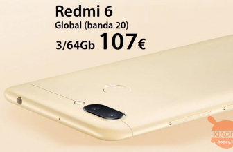 Kod rabatowy - Xiaomi Redmi 6 Global 3 / 64Gb do 107 €