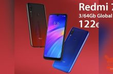 Discount Code - Xiaomi Redmi 7 Global (20 band) 3 / 64Gb at 122 € the 3 / 32Gb at 110 € and the 2 / 16Gb at 95 €