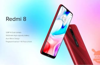 Kode Diskon - Redmi 8 Global 3 / 32Gb di 104 € dan 4 / 64Gb di 113 €